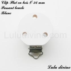 Clip bois boucle Plat 36 mm