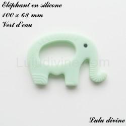 Eléphant en silicone
