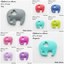 Elephant en silicone