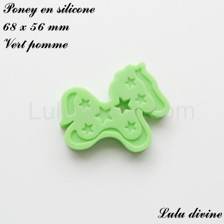 Poney en silicone