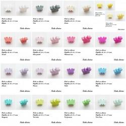 Perle en silicone Papillon