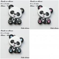 Panda en silicone