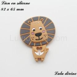 Lion en silicone