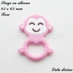 Singe en silicone Rose