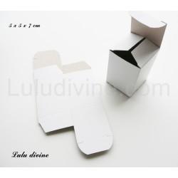 Boite / emballage de carton blanc