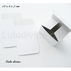 Boite carton : 12 x 8 x 7 cm