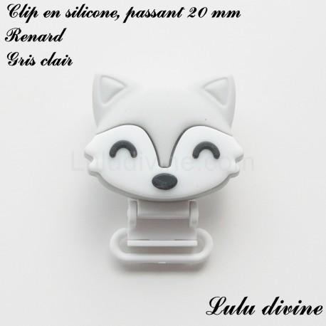 Clip silicone 20 mm Renard