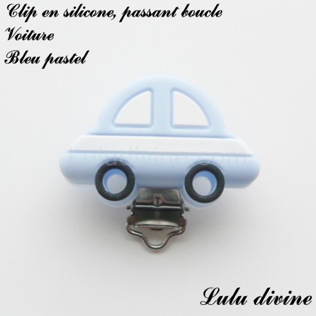 Clip silicone boucle Voiture