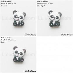 Perle en silicone Panda