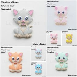 Chat en silicone
