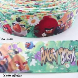 Ruban Angry birds de 25 mm
