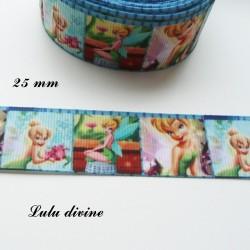 Ruban effet scène La fée clochette de 25 mm