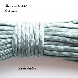 Paracorde 4 mm : Gris