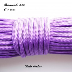 Paracorde 4 mm : Violet