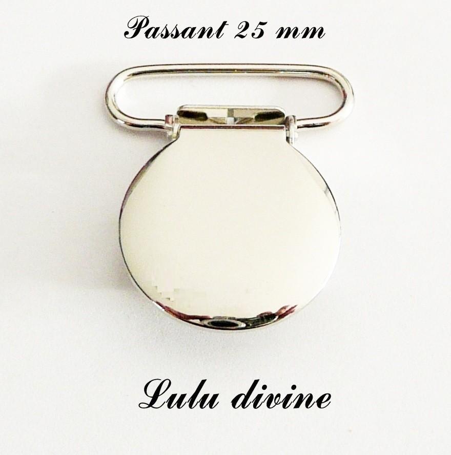2 Pinces Ourson Clip bretelle Attache tétine sucette doudou passant de 20 mm