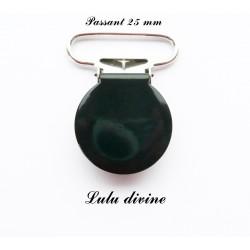 Pince ronde 25mm noir