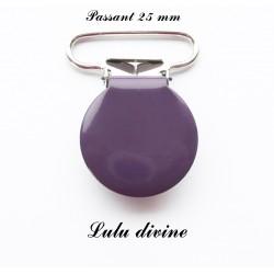 Pince ronde 25mm violet