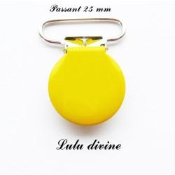 Pince ronde 25mm jaune