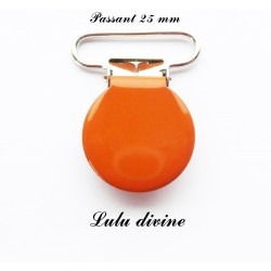 Pince ronde 25mm orange