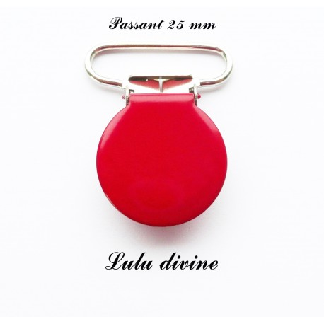 Pince ronde 25mm rouge