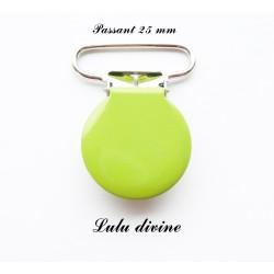 Pince ronde 25mm vert