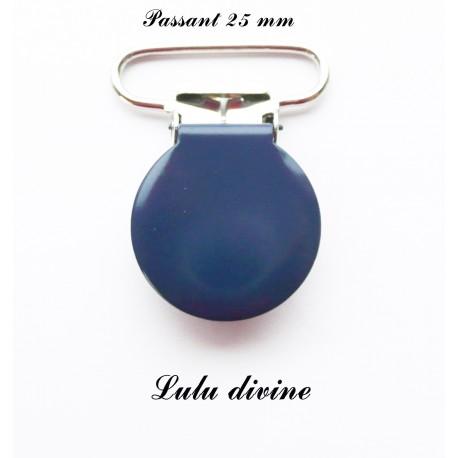 Pince ronde 25mm bleu marine