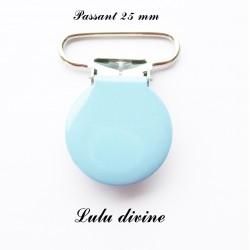 Pince ronde 25mm bleu clair