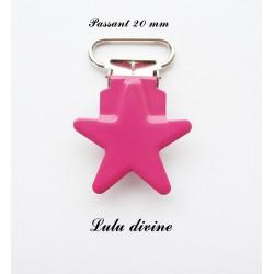 Pince étoile Fuchsia