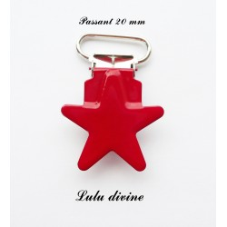 Pince étoile rouge