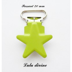 Pince étoile vert