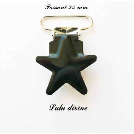 Pince étoile noir