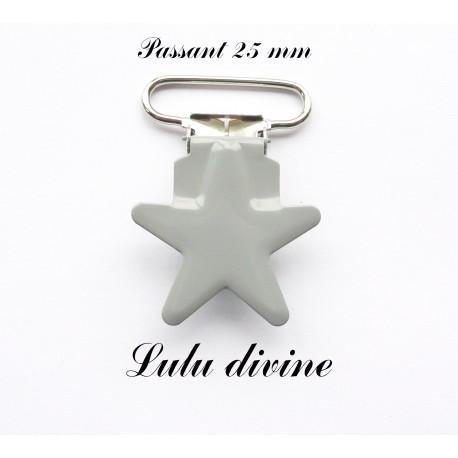 Pince étoile gris