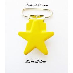 Pince étoile jaune