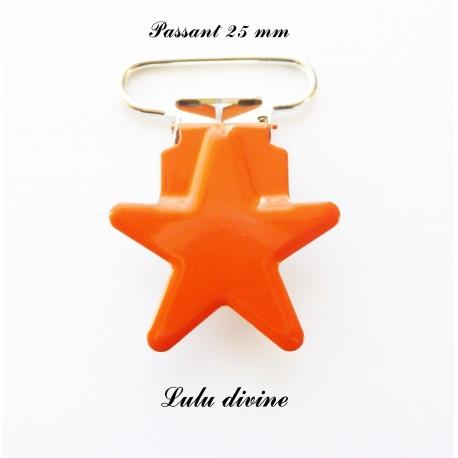 Pince étoile orange