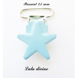 Pince étoile bleu clair