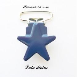 Pince étoile bleu marine