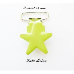 Pince étoile 25 mm Vert