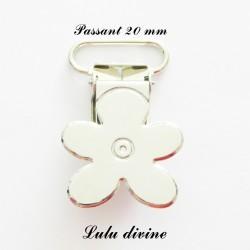Pince Fleur 20 mm Métal (modèle 2)