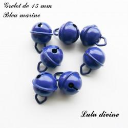 Grelot 15 mm : Bleu marine