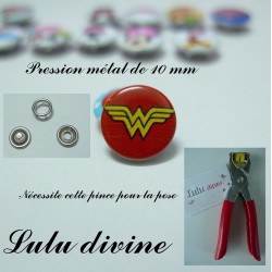 Pression métal wonder woman