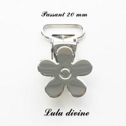 Pince Fleur 20 mm Métal