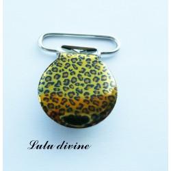 Pince 25 mm : léopard