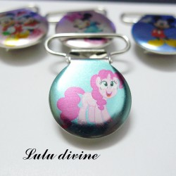 Pince 25 mm : Poney Pinkie Pie