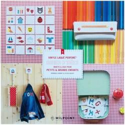 Vinyle perforé Cahier 3 : pour Petits & Grands Enfants