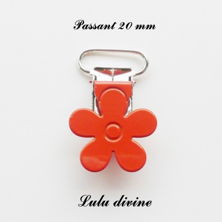 Pince fleur 20 mm Orange