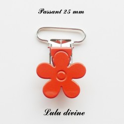 Pince fleur 25 mm Orange