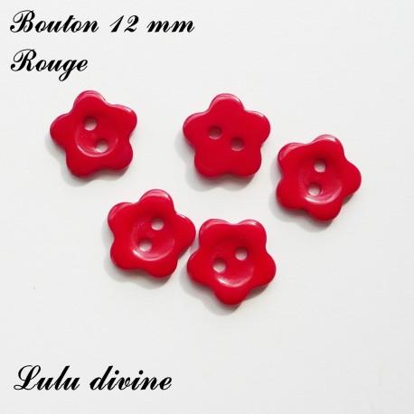 Bouton Fleur 12 mm