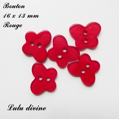 Bouton Papillon 16 x 13 mm