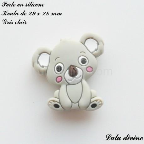 Perle en silicone Koala